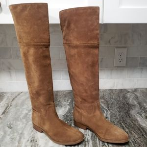 Michael Kors   Regina Suede Leather Tall Boots 8